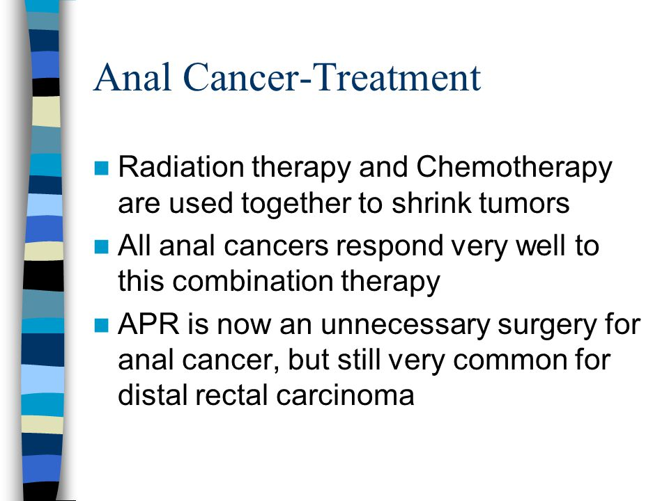 Anal Cancer-Treatment