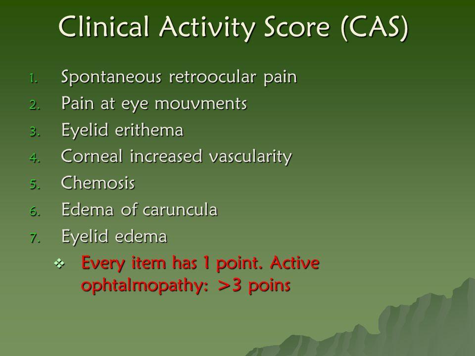Clinical Activity Score (CAS)