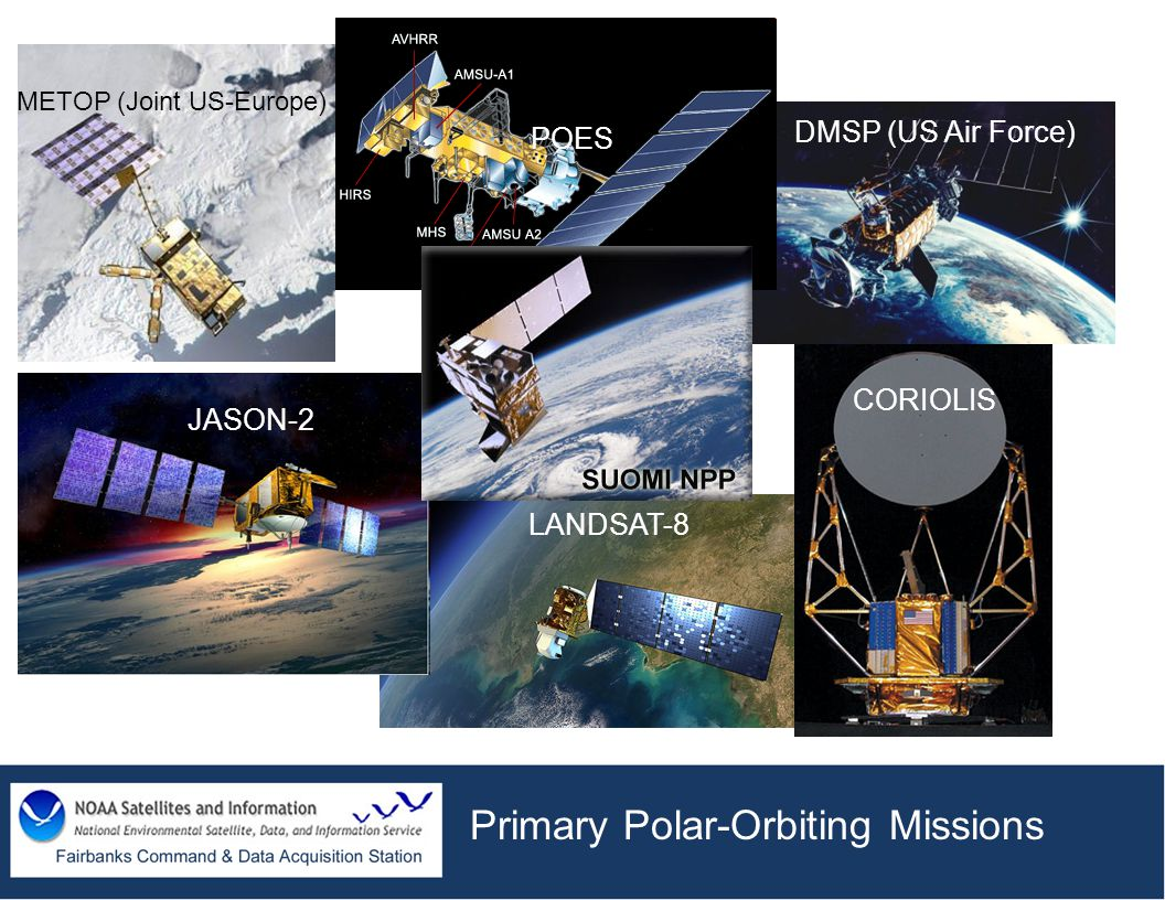 Primary Polar-Orbiting Missions