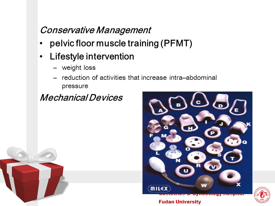 Conservative Management pelvic floor muscle training (PFMT)