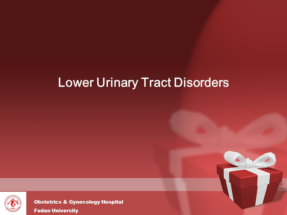 Lower Urinary Tract Disorders