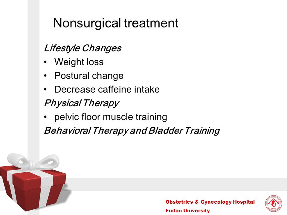 Nonsurgical treatment