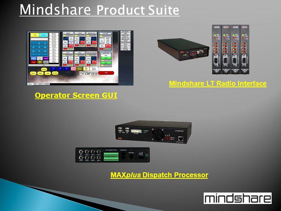 Mindshare LT Radio Interface MAXplus Dispatch Processor