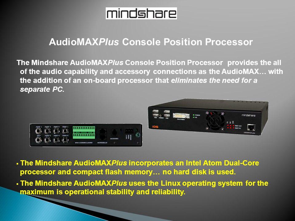 AudioMAXPlus Console Position Processor