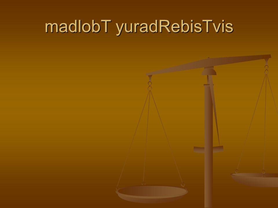 madlobT yuradRebisTvis