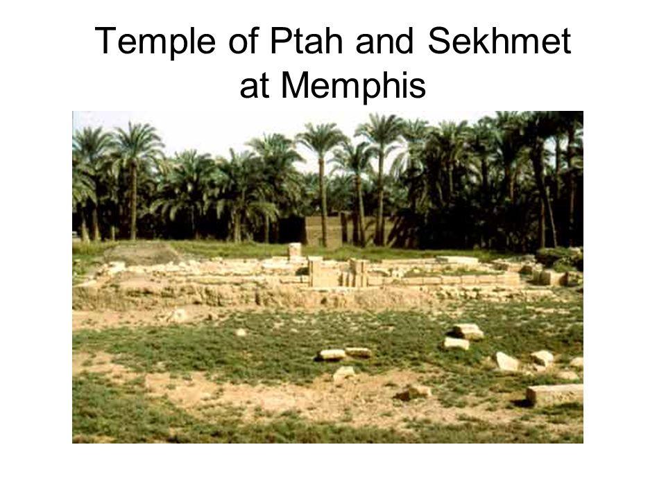 Temple of Ptah and Sekhmet at Memphis