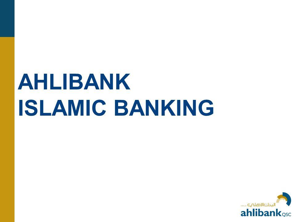 AHLIBANK ISLAMIC BANKING
