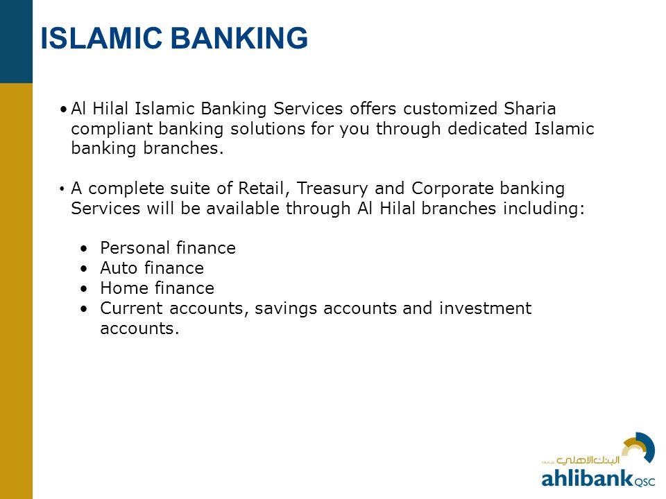 ISLAMIC BANKING