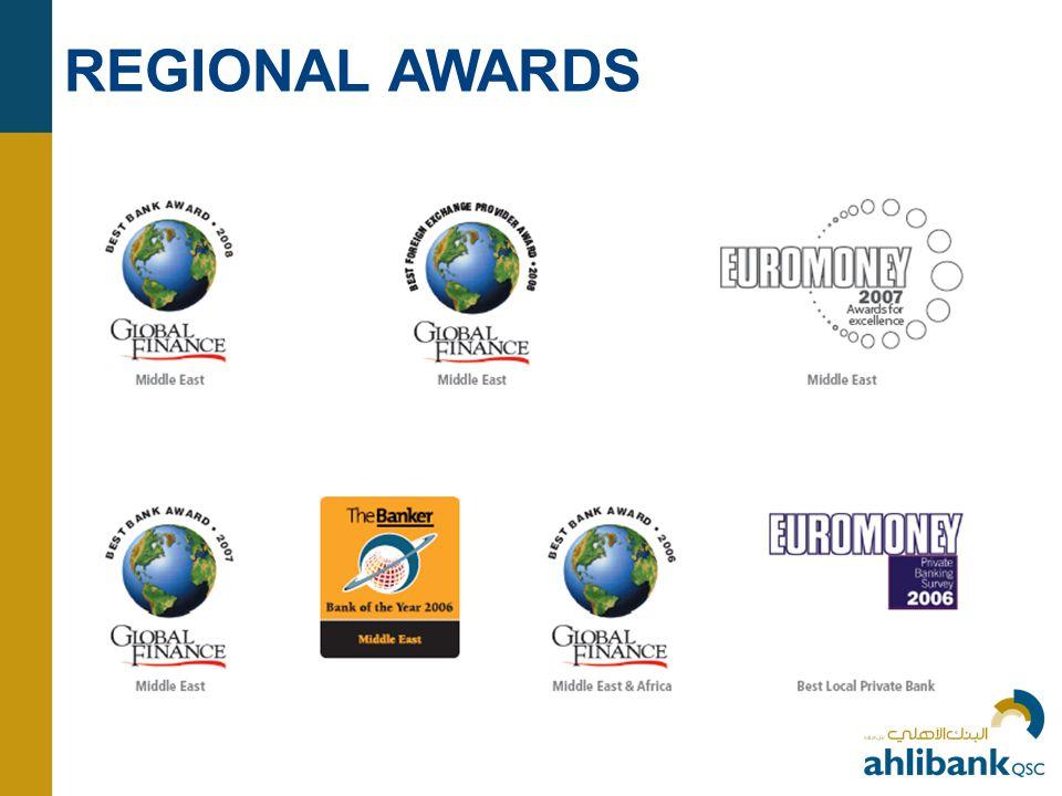 REGIONAL AWARDS