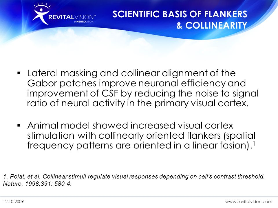 SCIENTIFIC BASIS OF FLANKERS & COLLINEARITY