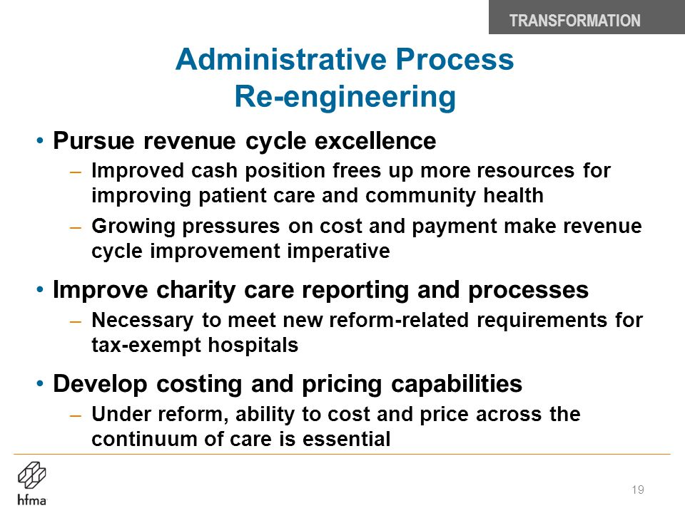 Administrative Process Re-engineering