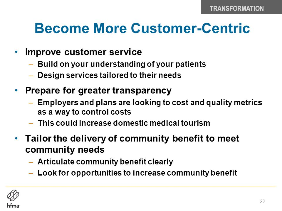 Become More Customer-Centric