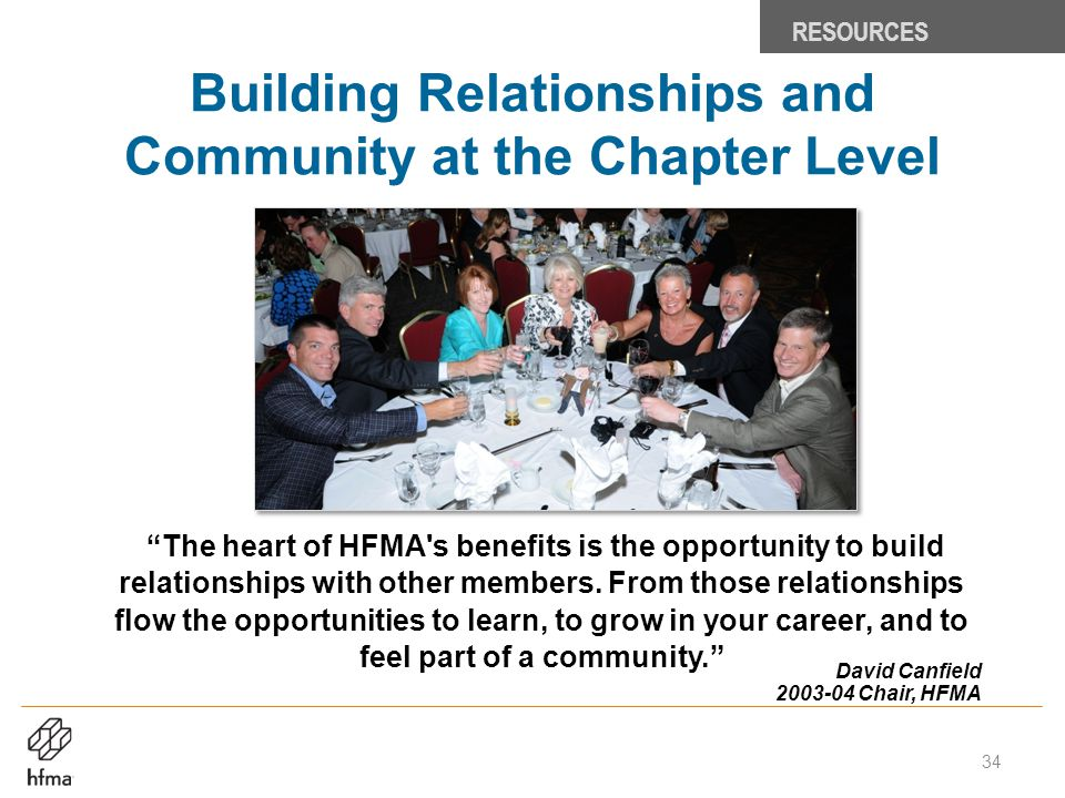 Building Relationships and Community at the Chapter Level