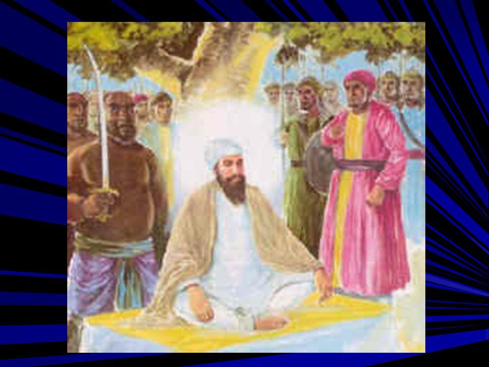 Guru Sahib was allowed to perform His last prayers