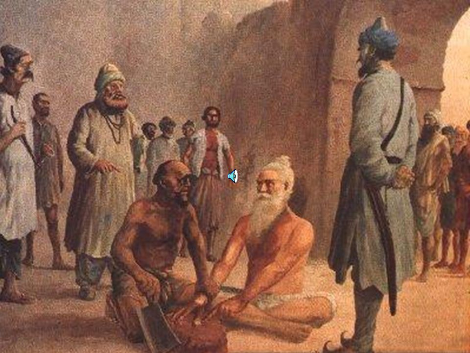 The Governor called Bhai Mani Singh to Lahore and demanded the tax money.