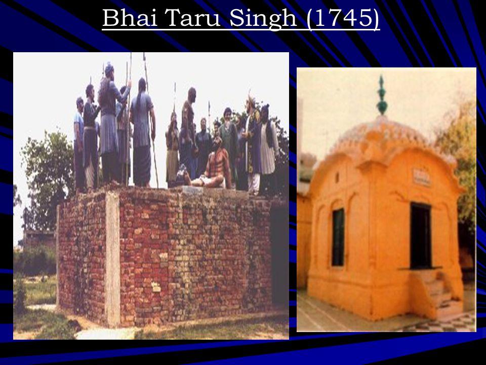 Bhai Taru Singh (1745) Gurdwara in memory of Bhai Taru Singh ji!