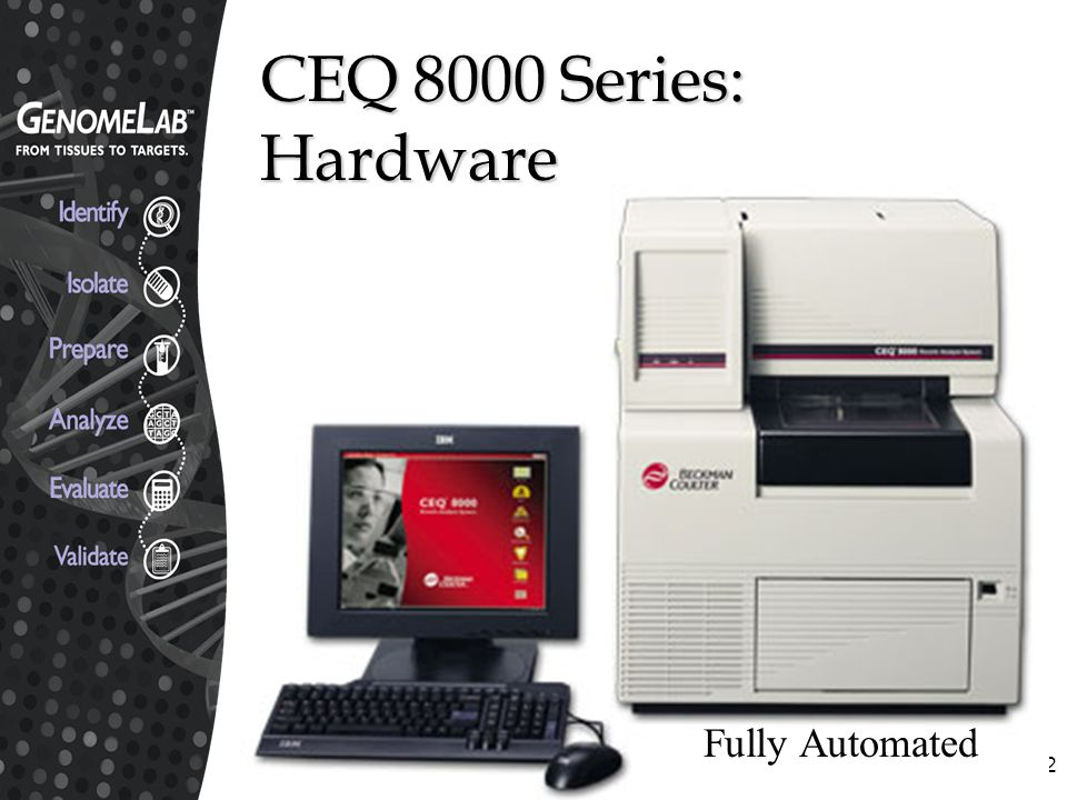 CEQ 8000 Series: Hardware Fully Automated