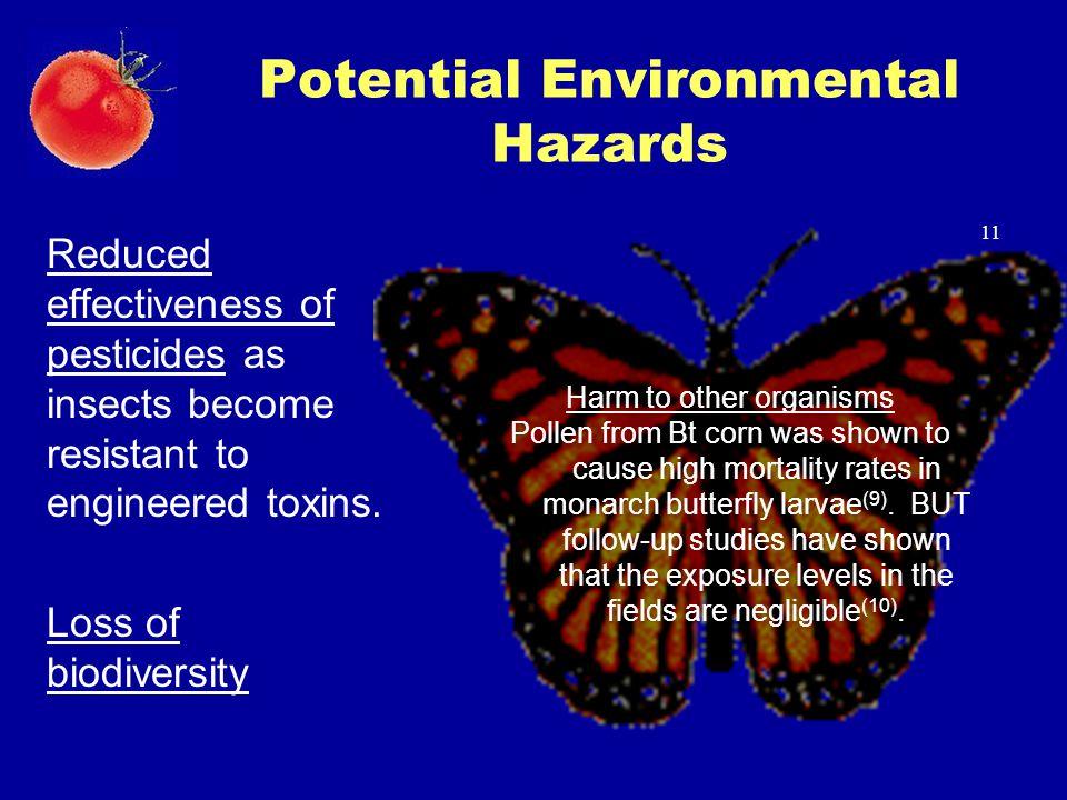 Potential Environmental Hazards