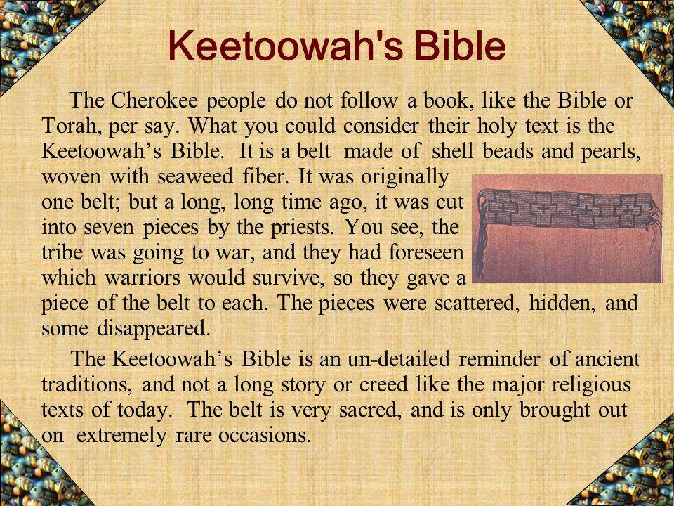 Keetoowah s Bible