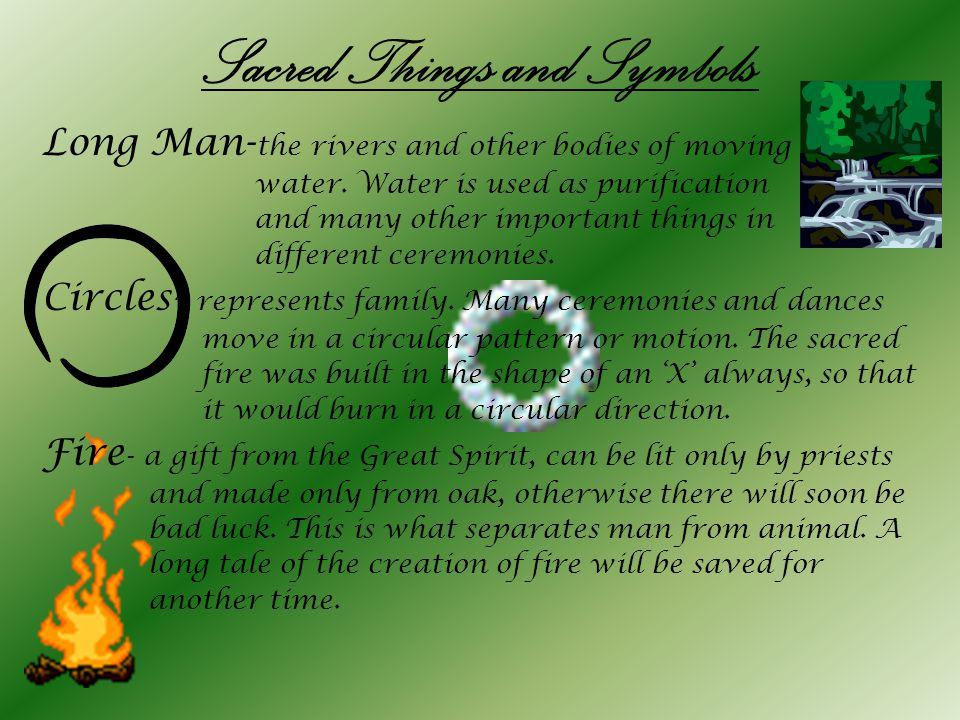 Sacred Things and Symbols