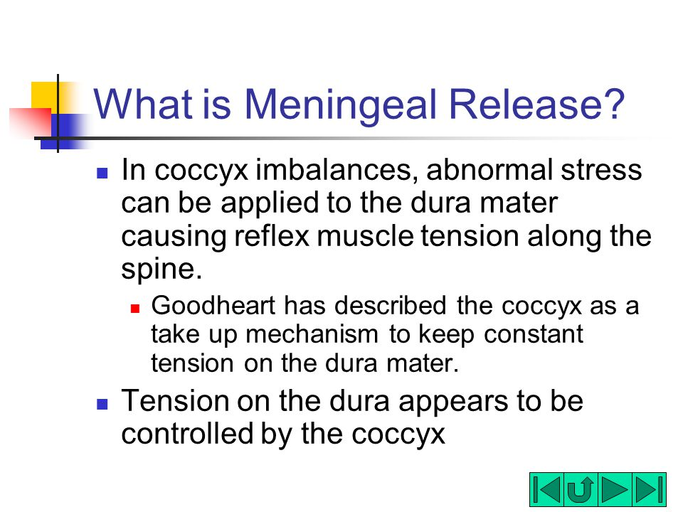 What is Meningeal Release