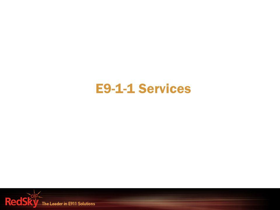 E9-1-1 Services
