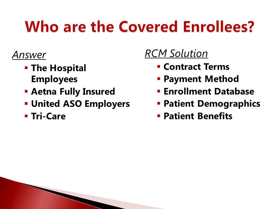 Who are the Covered Enrollees