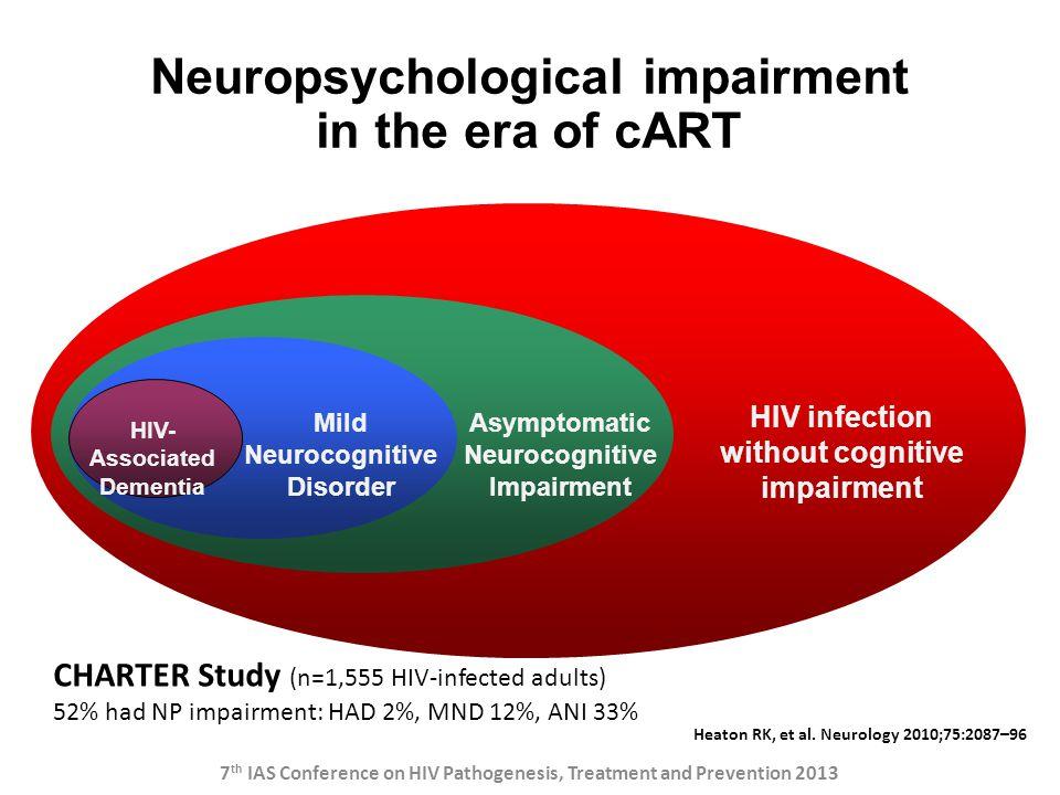 Neuropsychological impairment