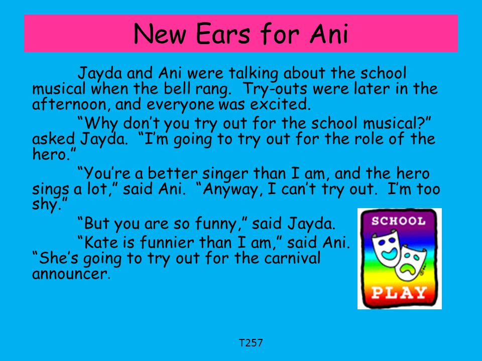 New Ears for Ani