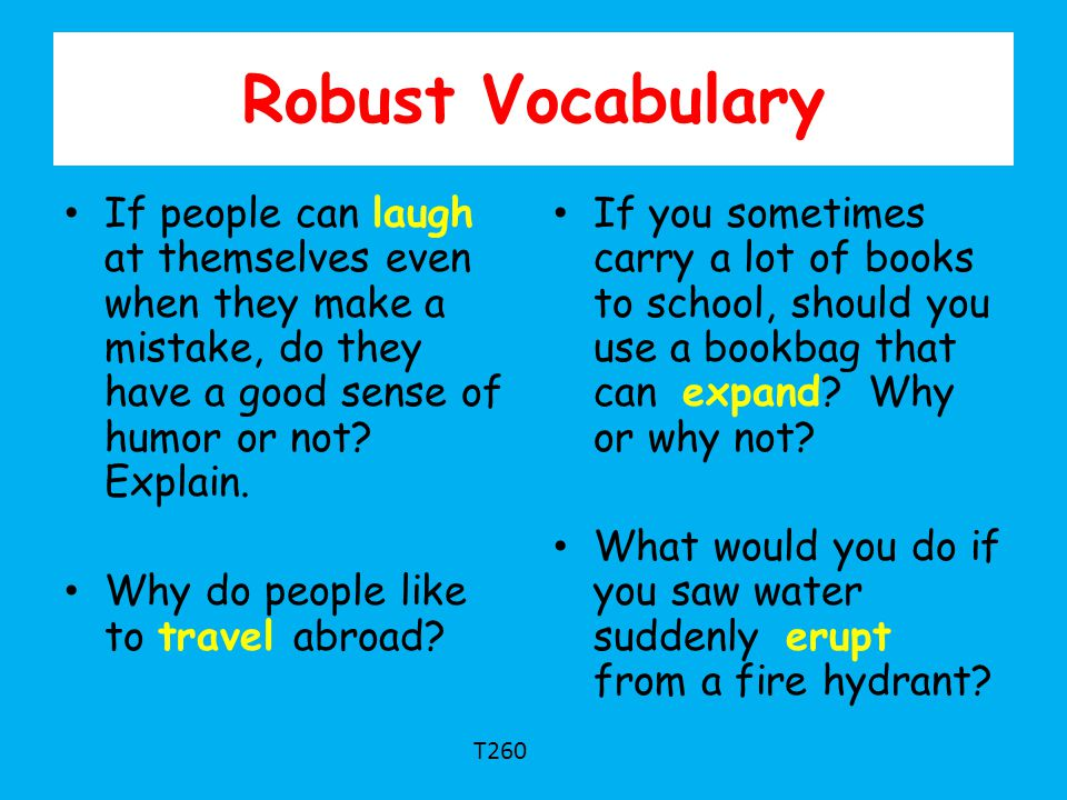 Robust Vocabulary If people can laugh at themselves even when they make a mistake, do they have a good sense of humor or not Explain.