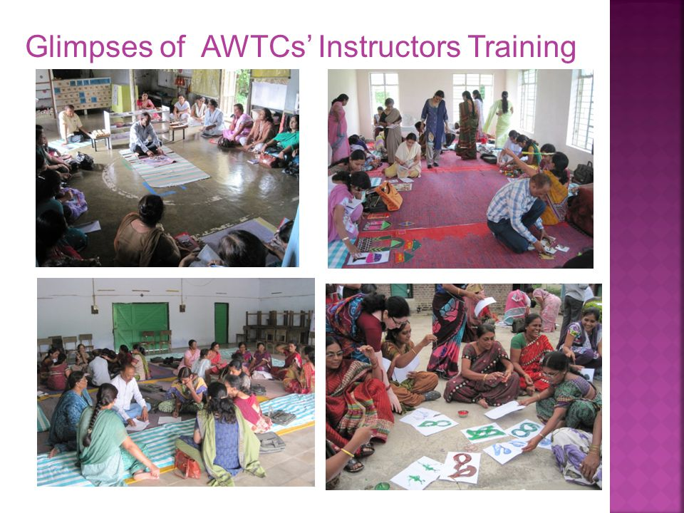 Glimpses of AWTCs' Instructors Training