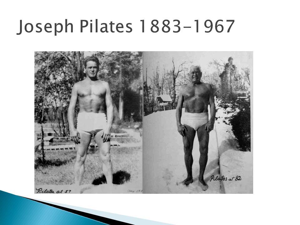 Joseph Pilates 1883-1967