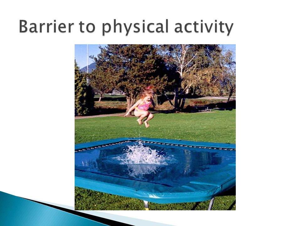 Barrier to physical activity