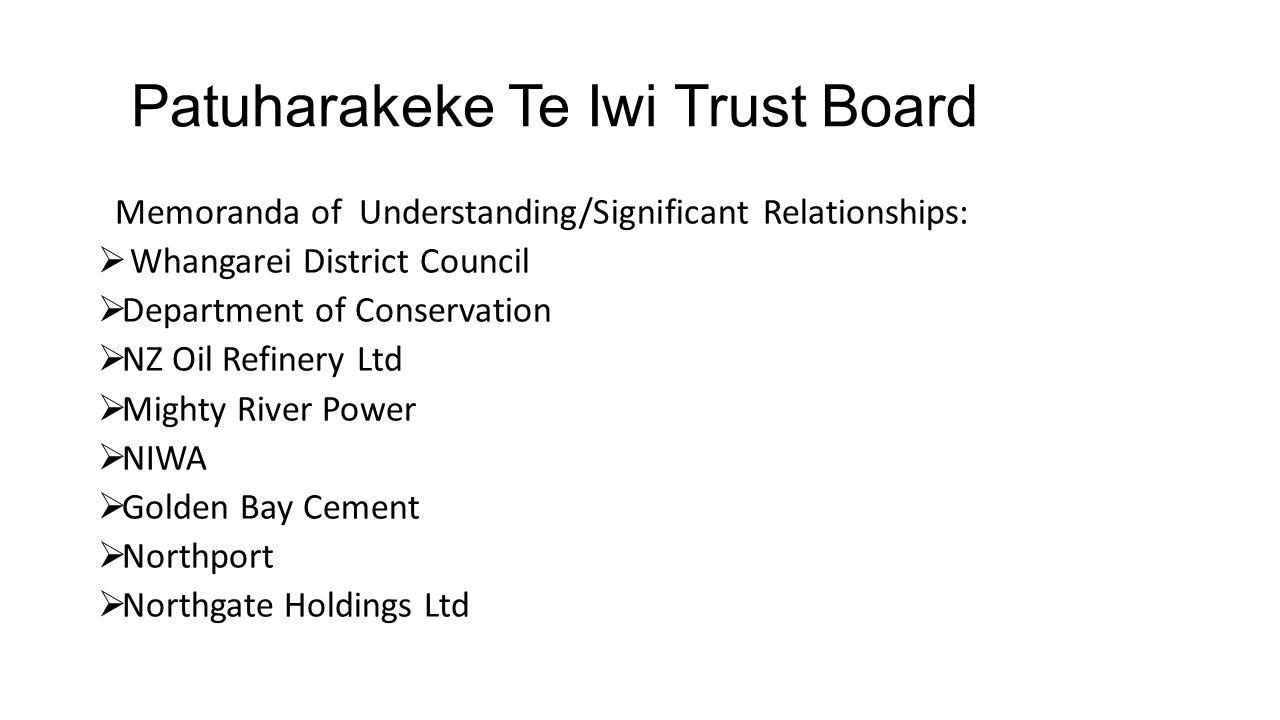 Patuharakeke Te Iwi Trust Board