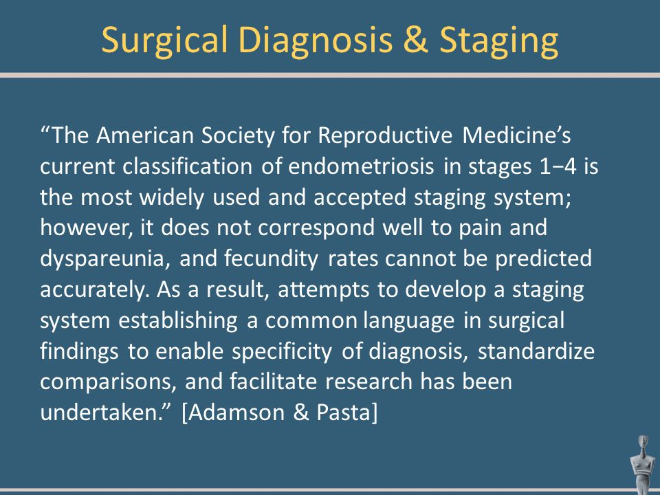 Surgical Diagnosis & Staging
