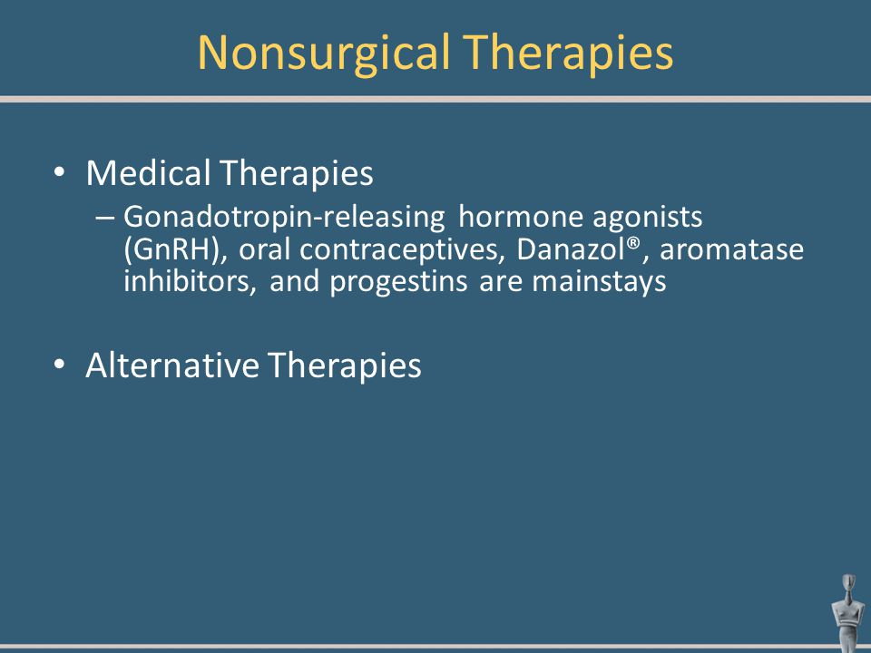 Nonsurgical Therapies