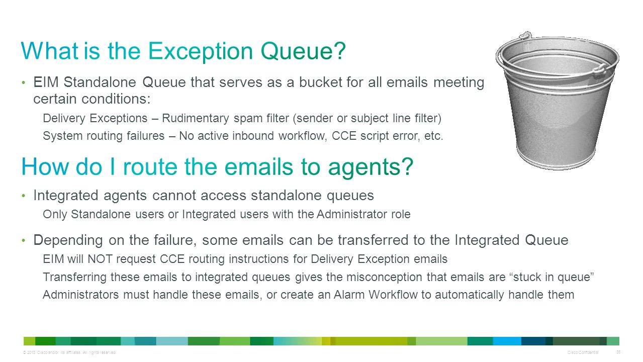 What is the Exception Queue