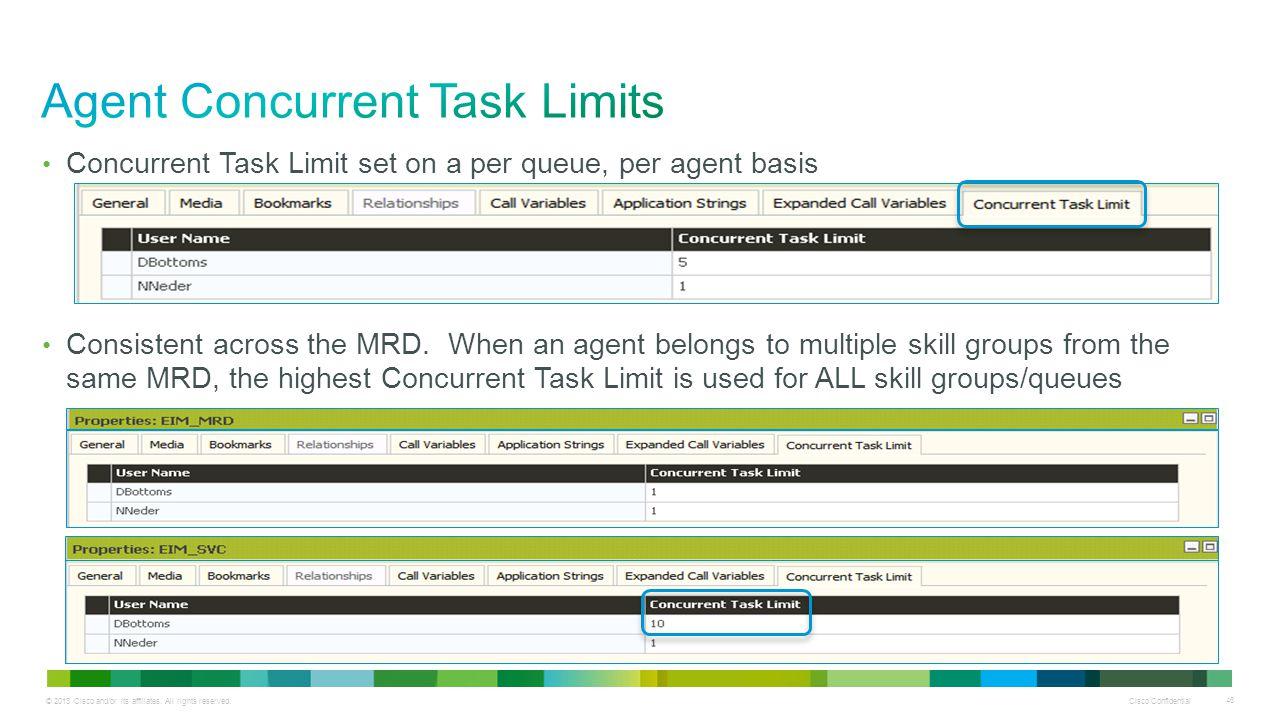 Agent Concurrent Task Limits