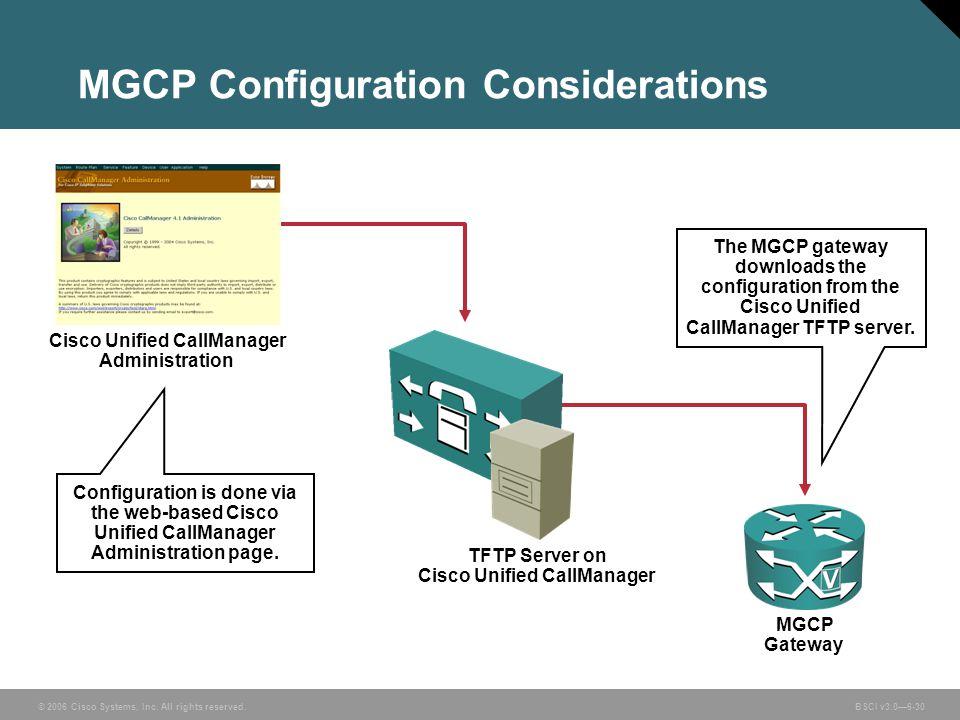 MGCP Configuration Considerations