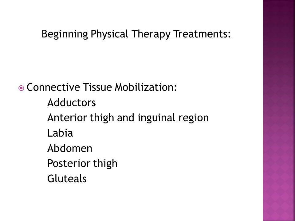Beginning Physical Therapy Treatments: