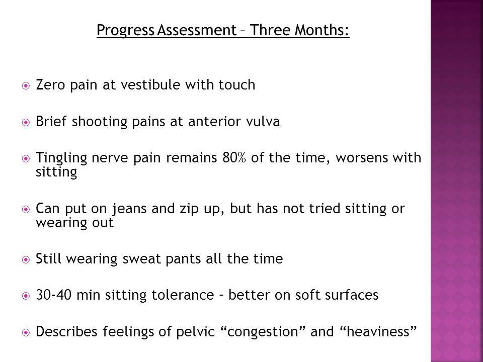 Progress Assessment – Three Months: