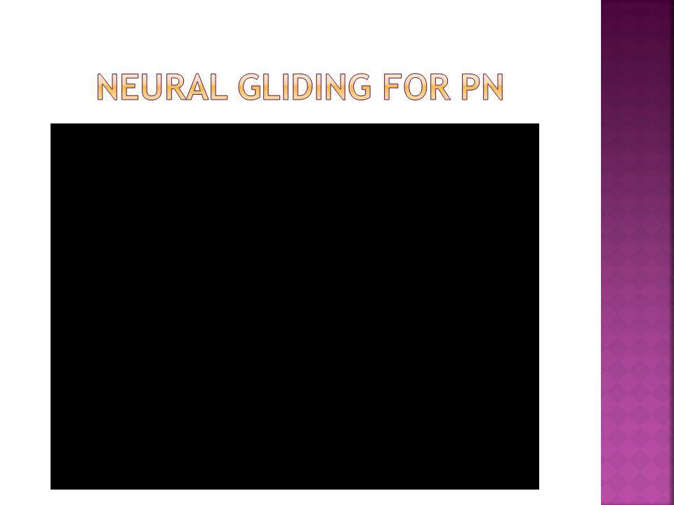 Neural gliding for PN