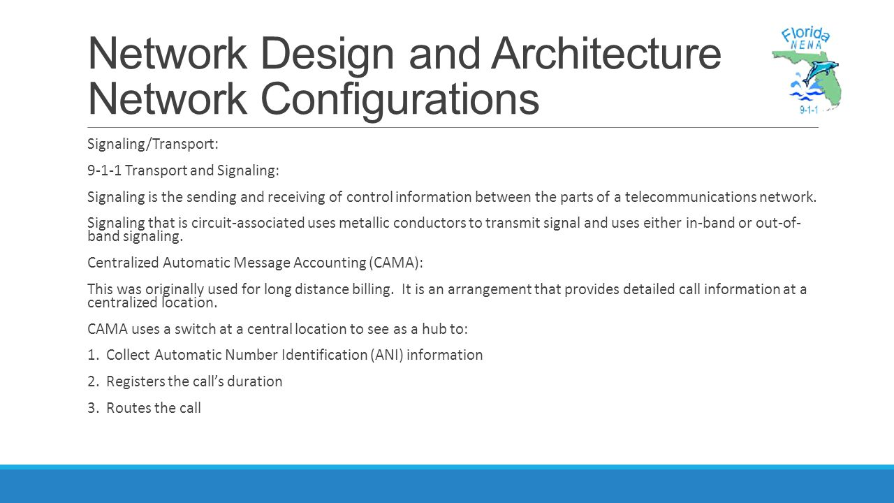 Network Design and Architecture Network Configurations