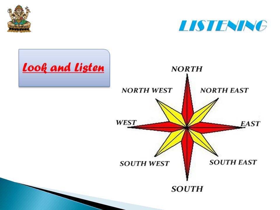 LISTENING Look and Listen
