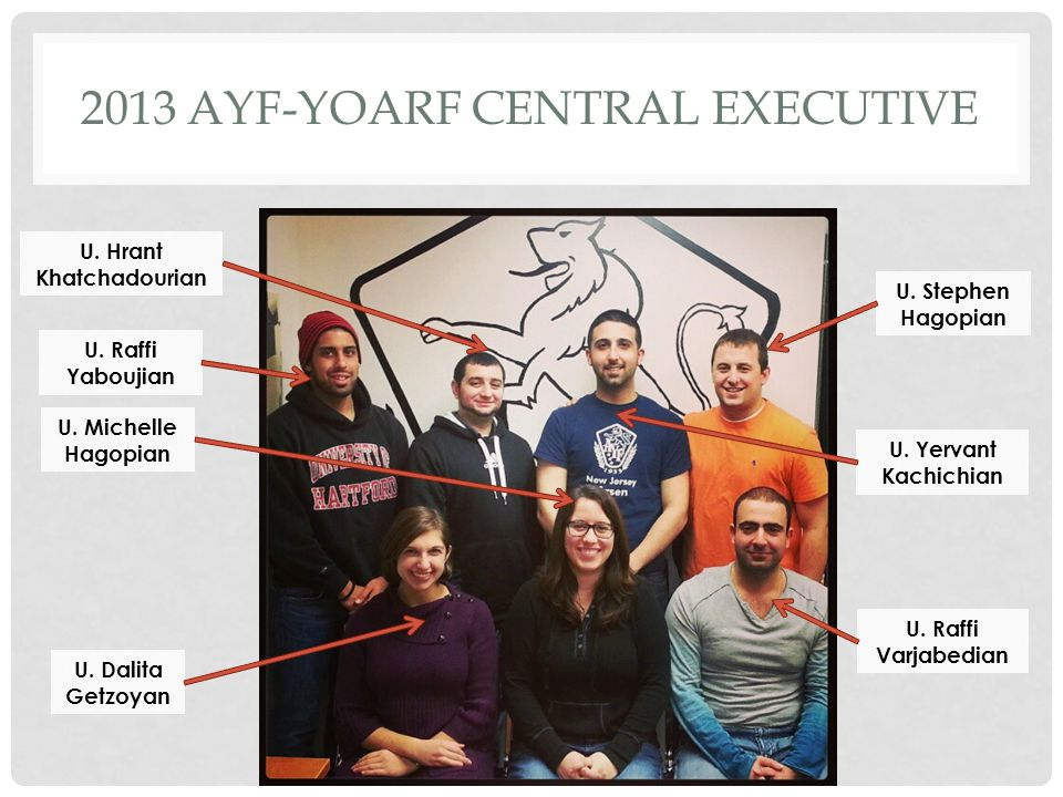 2013 AYF-yoarf CENTRAL EXECUTIVE