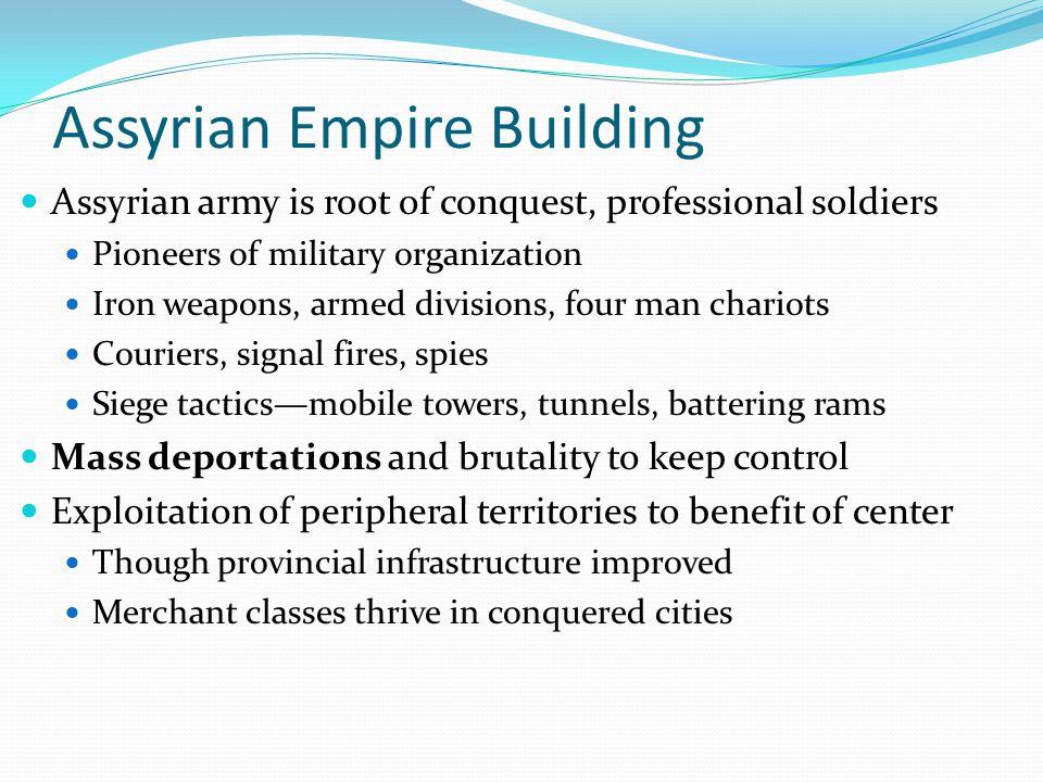 Assyrian Empire Building