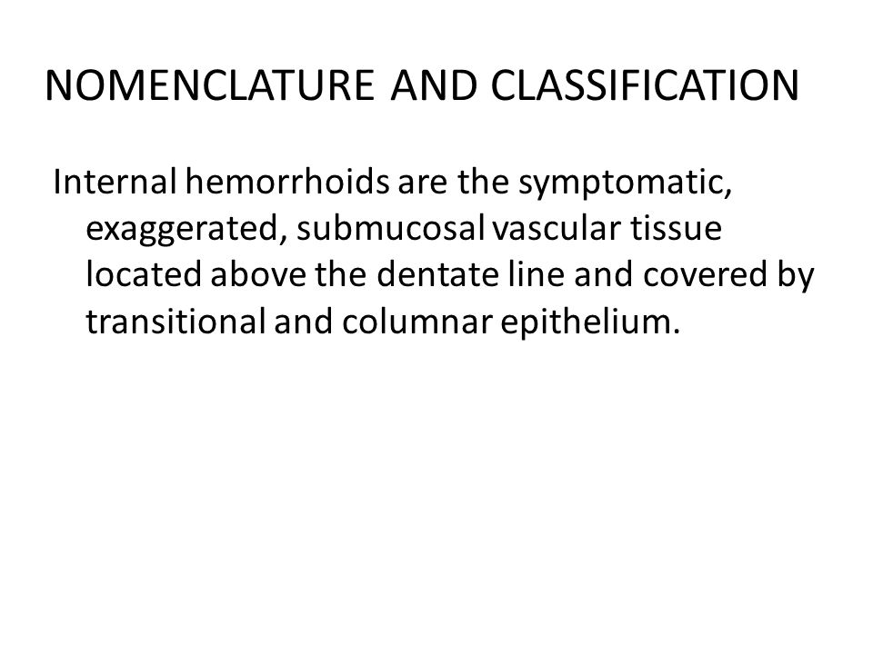 NOMENCLATURE AND CLASSIFICATION