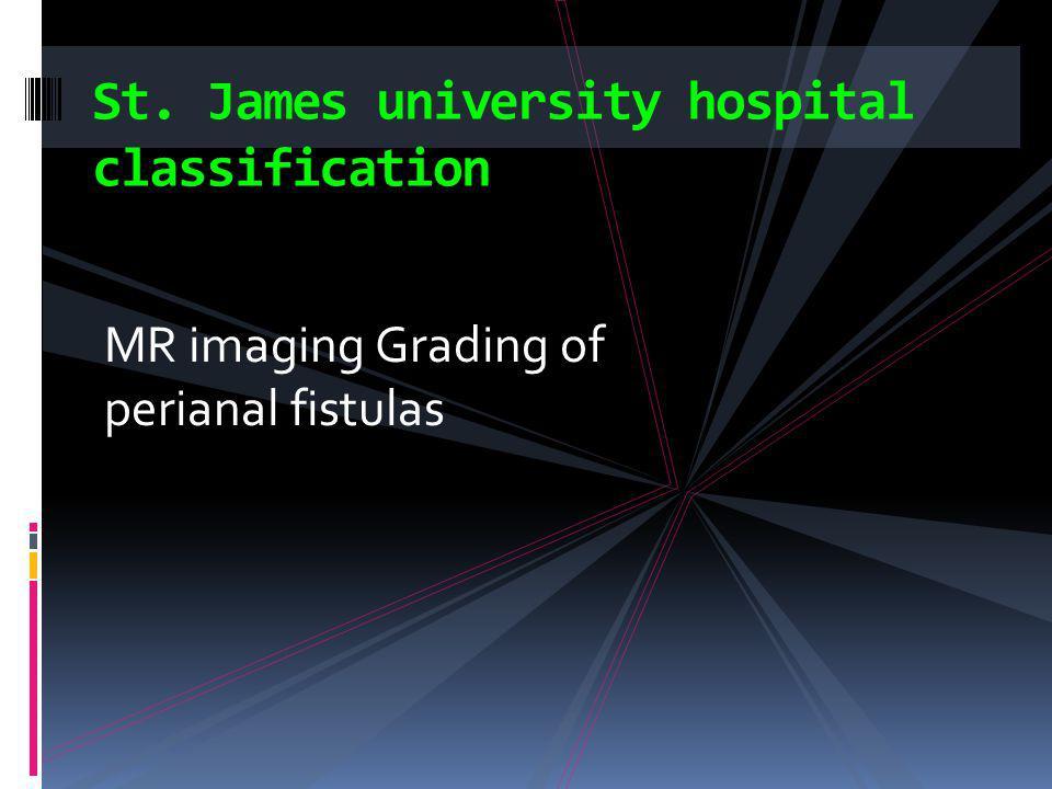 St. James university hospital classification