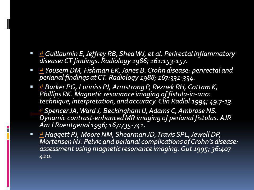 ↵ Guillaumin E, Jeffrey RB, Shea WJ, et al