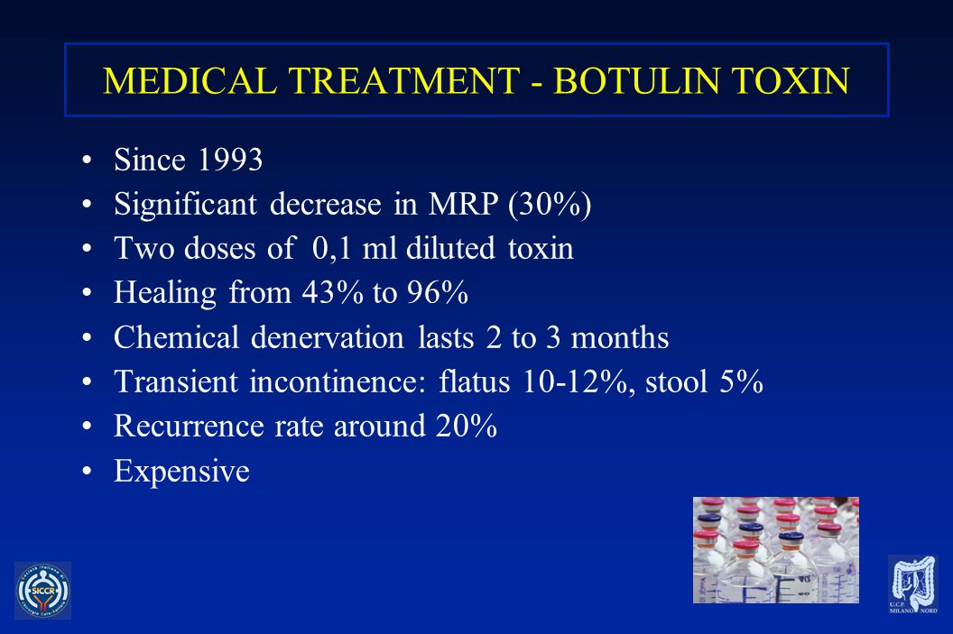 MEDICAL TREATMENT - BOTULIN TOXIN
